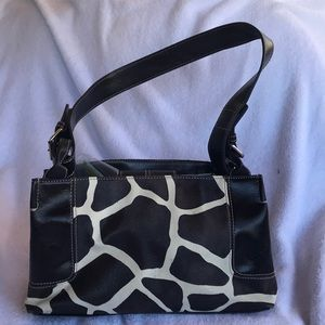 Nine West cow colored purse
